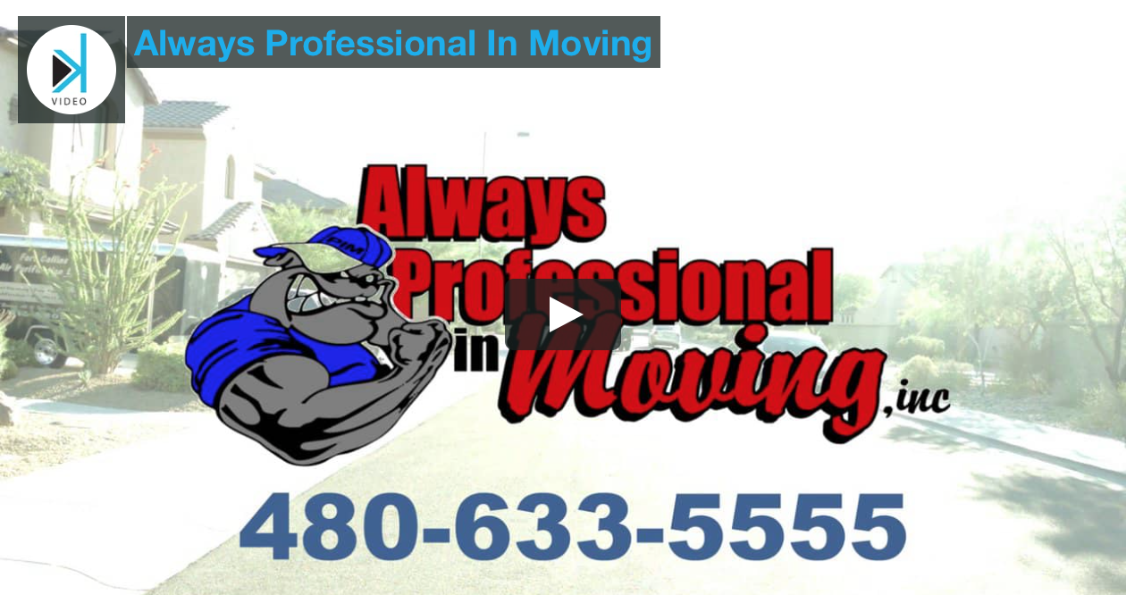 Always Professional In Moving